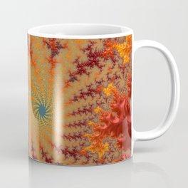 Crimson Alley - Fractal Art Coffee Mug