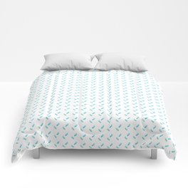 Crystal Shower Comforters