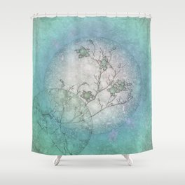 Serenity Blue Shower Curtain