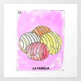 La Familia Art Print