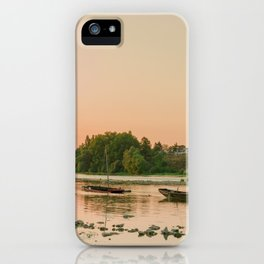 Floating The Loire iPhone Case