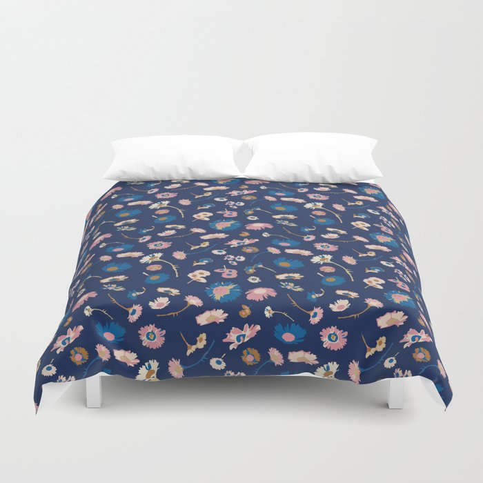 Oh daisy floral pattern Duvet Cover