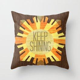 Baby Keep Shining Throw Pillow