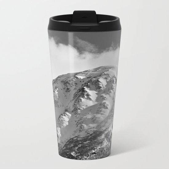 Snowy Alaskan Mountain - 2 Metal Travel Mug