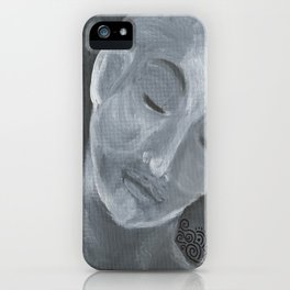Meditative Contemplation #3 iPhone Case