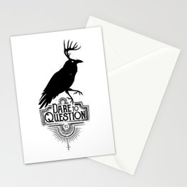 Dare To Question | BLK Stationery Cards