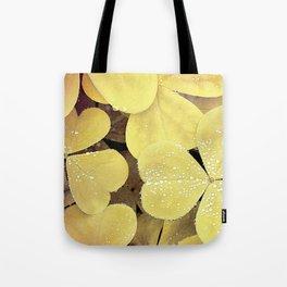 floral leaves Tote Bag