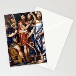 Moses and Aaron before Pharaoh: An Allegory of the Dinteville Family Stationery Cards