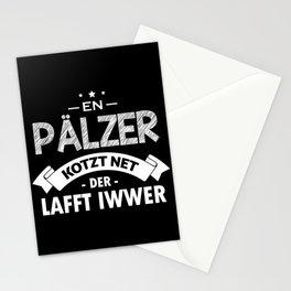 Palatinate saying dialect Palatinate Stationery Cards