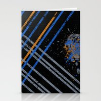grid Stationery Cards featuring Grid by Last Call