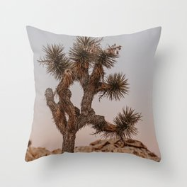 Joshua Tree XXVIII / California Desert Throw Pillow