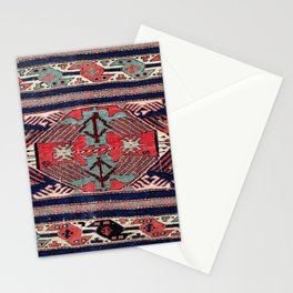 Shahsavan Azerbaijan Northwest Persian Bag Face Print Stationery Cards