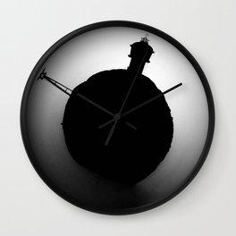 Lighthouse Little Planet Wall Clock