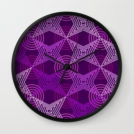 Op Art 126 Wall Clock