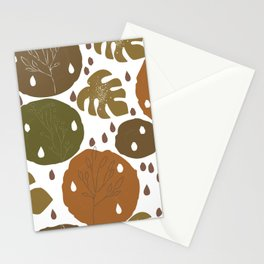 Terracotta and Nature Stationery Cards