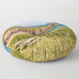 Carfei Bay, Wales Floor Pillow