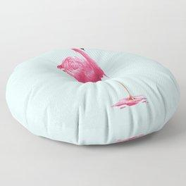 MELTING FLAMINGO Floor Pillow