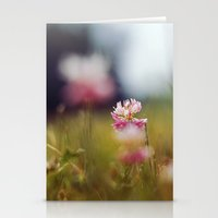 clover Stationery Cards featuring Clover by elle moss