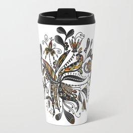 Blooming Doodles Travel Mug