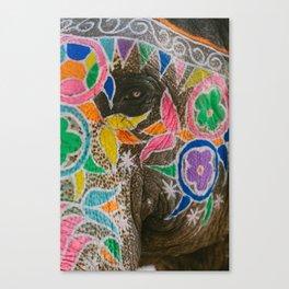 Indian Elephant Canvas Print