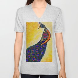 Colours in my wing Unisex V-Neck