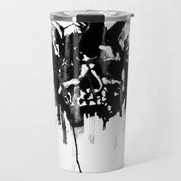 Dog skull Travel Mug