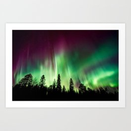 Northern Lights (Aurora Borealis) 10. Art Print