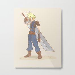 Big sword Metal Print
