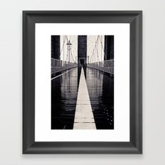 Brooklyn Bridge - 2  Framed Art Print