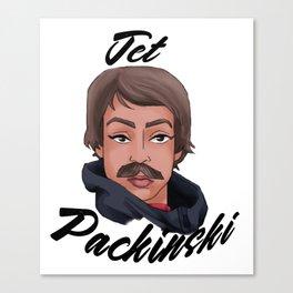 Jet Packinski Canvas Print