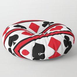 Four card suits Floor Pillow
