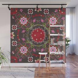 Beautiful Floral Mandala Wall Mural