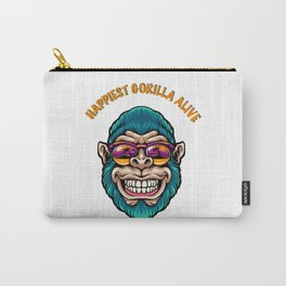 Happiest gorilla alive Carry-All Pouch