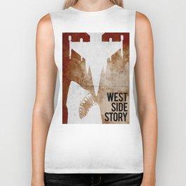 west side story Biker Tank