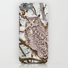 Sam's Great Horned Owl Slim Case iPhone 6s