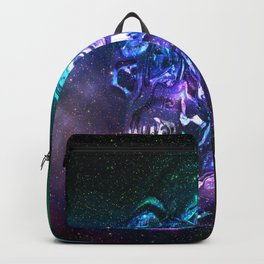 vaporwave skull Backpack