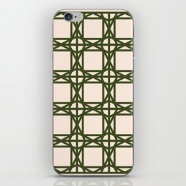 DG GEOMETRIC – KHAKI iPhone Skin