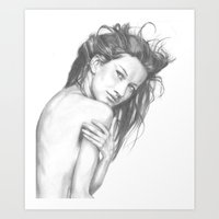 Gisele Bundchen Art Print