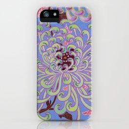 Beaded Chrysanthemum iPhone Case