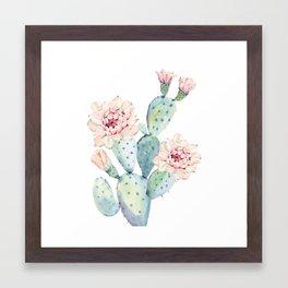 The Prettiest Cactus Framed Art Print
