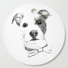 Jack Russell - Bo with a Bow Tie Cutting Board