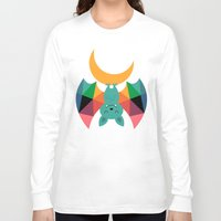 child Long Sleeve T-shirts featuring Moon Child by Andy Westface