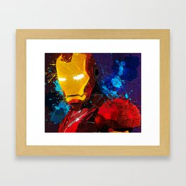 Iron man I Framed Art Print