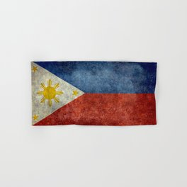 Republic of the Philippines national flag (50% of commission WILL go to help them recover) Hand & Bath Towel