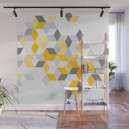 Yello Dimension Wall Mural