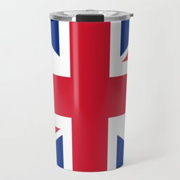 UK FLAG - The Union Jack Authentic color and 3:5 scale  Travel Mug