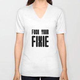 Fixie Unisex V-Neck
