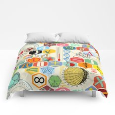 Math in color Comforters