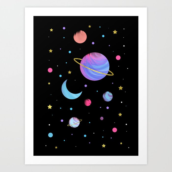 The Great Universe Art Print