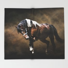 The Restless Gypsy Throw Blanket